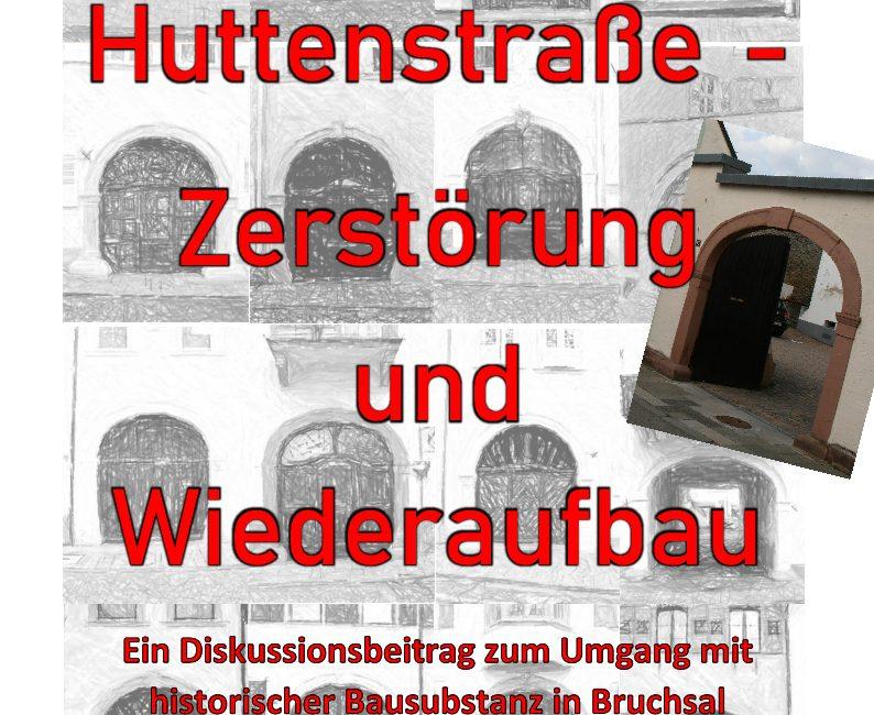Vortrag zur barocken Huttenstraße – 9.1.2020